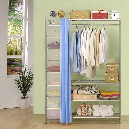【中華批發網DIY家具】D-61-13-W4+PP型90公分衣櫥櫃-(前罩)不織布