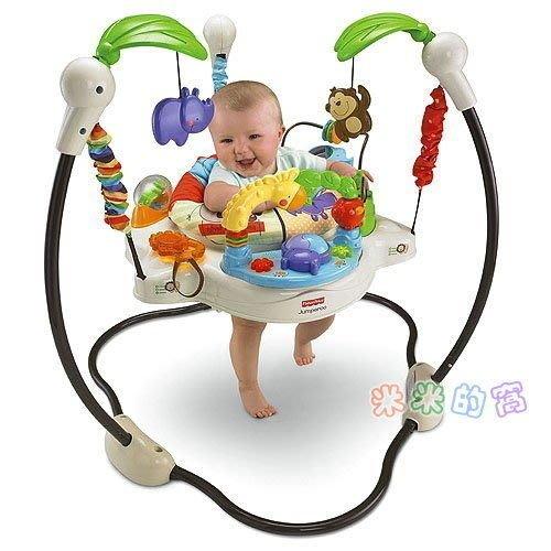 @米米的窩@高雄專業玩具租賃 Fisher-Price 費雪 動物樂園跳跳樂鞦韆 [玩具出租]