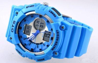 (六四三精)大錶徑4.7公分雙顯錶☆5...