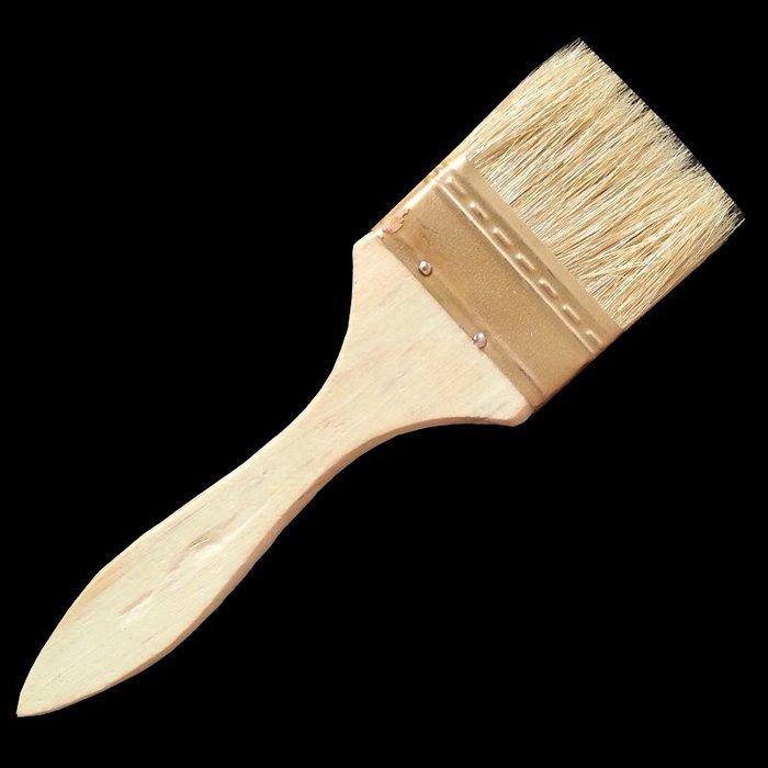 888利是鋪- 瓷磚美縫劑施工工具 清縫毛刷 2寸油漆刷 50mm#油漆刷