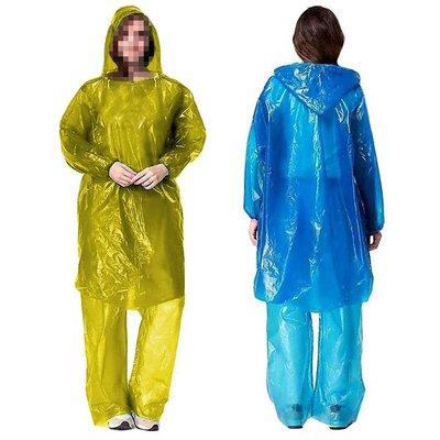 【贈品禮品】B3974 雨衣套裝/雨衣/雨褲/分體式/一次性雨衣/登山露營/旅遊/成人雨衣/防雨/防水/贈品禮品