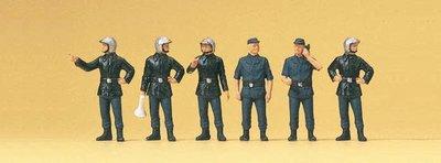 傑仲 (有發票) 博蘭 公司貨 Preiser 人物組 Firemen. France. Modern 10232 HO