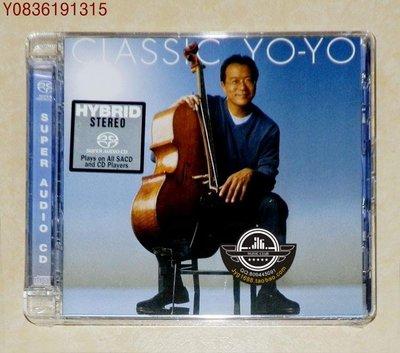 爆款CD.唱片~889853557325 Yo-Yo Ma 馬友友 Classic Yo-Yo SACD 限量編號版