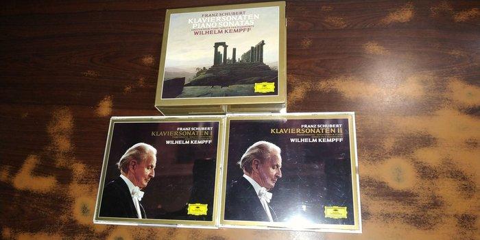 好音悅 半銀圈 Kempff 肯普夫 Schubert 舒伯特 鋼琴作品輯 7CD DG 德PMDC版 423496-2