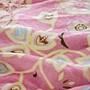 法蘭絨  5尺/雙人床包被套組【瑪格麗特】絲薇諾