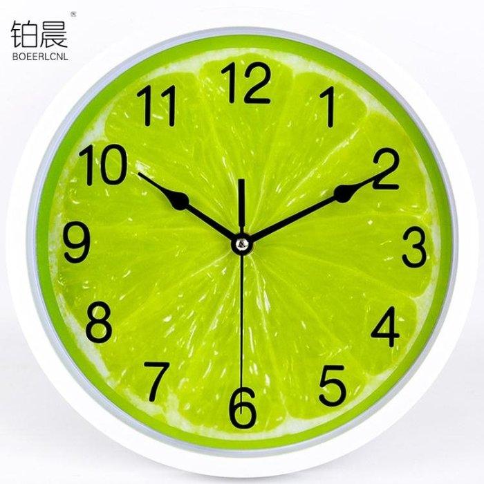 掛鐘卡通鐘錶臥室客廳掛鐘時尚創意簡約現代靜音掛錶