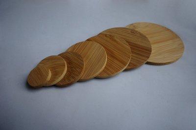 竹藝坊-圓型竹片.名牌.吊牌.杯墊.吊飾.鑰匙圈(可客製刻字)