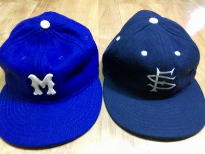 Ebbets Field Flannels 羊毛 棒球帽 美製 全封 7,3/8 蒙特羅 San Fransico
