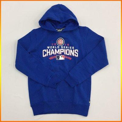 芝加哥小熊 Cubs 2016 MLB 世界大賽總冠軍連帽T恤 藍 5660122-550