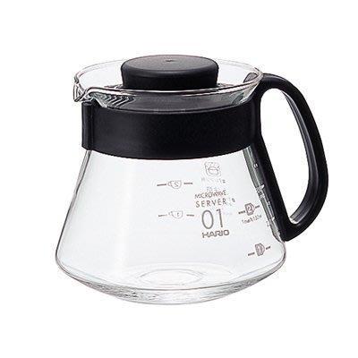 【多塔咖啡】HARIO V60 耐熱玻璃壺 1~3杯用 360ml 咖啡壺 XVD-36 手沖下座玻璃壺 可搭配v60