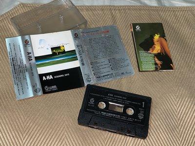 【李歐的音樂】飛碟唱片1986年 A-HA 合唱團 超級三重唱 惡棍生涯 SCOUNDREL DAYS 錄音帶下標就賣