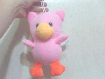 全新可愛粉紅鳥粉紅鴨