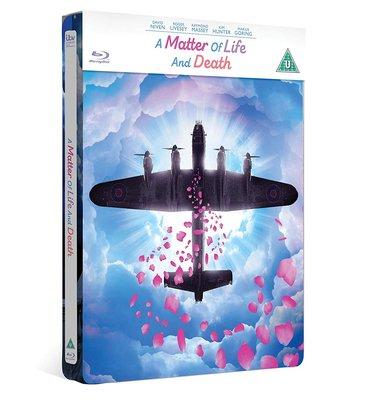 毛毛小舖--藍光BD 太虛幻境 限量鐵盒版 A Matter of Life and Death