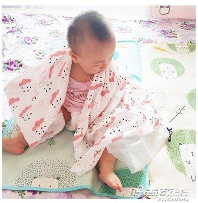 YEAHSHOP 嬰兒抱被子新生兒包被薄款純棉紗布寶寶襁褓包巾春夏季裹布Y185
