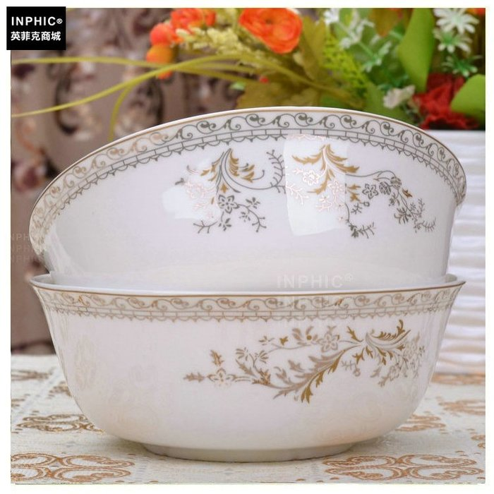 INPHIC-骨瓷 餐具單品 麵碗天鵝湖_S01861C