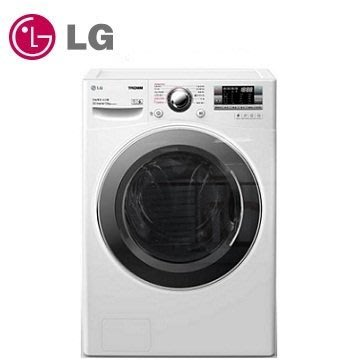 【LG 樂金】14公斤白色洗脫烘 滾筒洗衣機 (F2514DTGW)