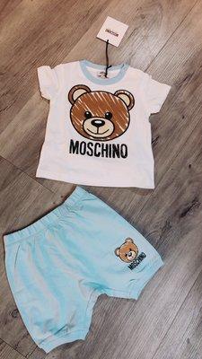 MOSCHINO 童 熊熊套裝 超級可愛2Y真品保證