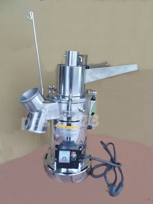 =傾奇電=連投式粉碎機續投料磨細打粉機 連投料磨粉機超細不鏽鋼打粉機