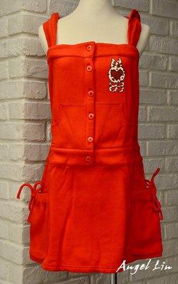 [天使的衣櫃G] 全新MOSS紅色(土耳其藍 黑色)內層刷毛無袖雙側大口袋洋裝(附可拆式帽子)