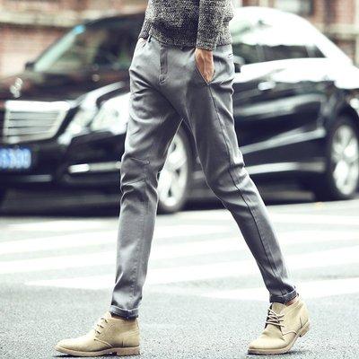 頹廢元素 - B 秋裝 修身 小腳 休閒褲 零碼出清不退換。