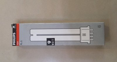 【燈聚】 飛利浦 Philips TUV PL-S 9W/4P T12紫外線殺菌燈管 淨水器用2GT