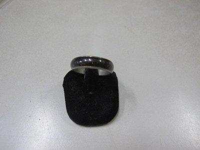二手舖 NO.3225 銀K時尚素面戒指 首飾飾品