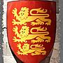 仿真複古鐵制盾牌歐洲中世紀古羅馬歐式酒吧...
