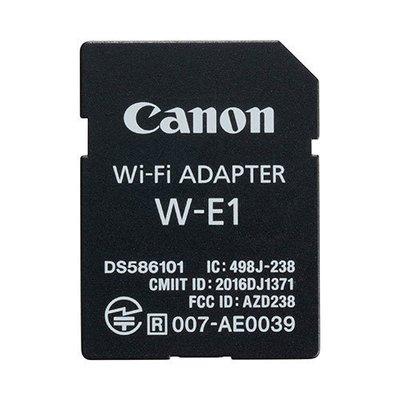 【eWhat億華】Canon W-E1 介面卡 WiFi功能 SD卡形無線通訊配件 WE1 無儲存容量 需搭配CF卡使用 平輸 5DS 7D2 適用 裸裝【3】