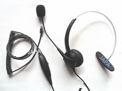總機耳機麥克風//辦公室電話耳機/家用電話耳機/室內電話耳機/總機式電話免持聽筒/可用於NEC、國際牌、東訊、聯盟等