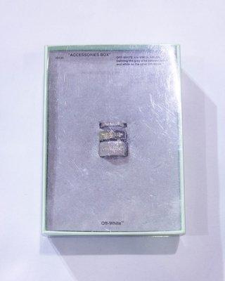 Off-White Blot Ring (Silver).戒指