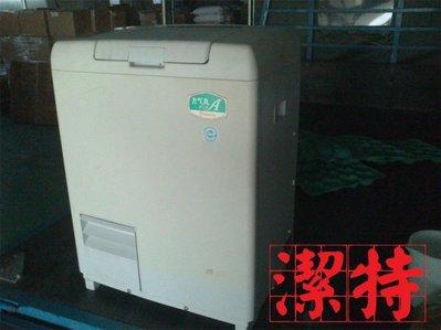 台中[潔特]廚餘機--未使用 庫存 日製(面板泛黄)菌種恆溫,白鐵內槽(有隔板),塑膠外殼 自動落渣D15