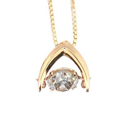 【JHT金宏總珠寶/GIA鑽石專賣】日本工藝晃動鑽石項鍊(JB45-A19)