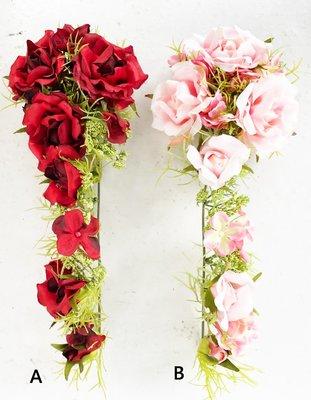~~尚盈家飾~~玫瑰藤條 二色  仿真人造花 乾燥花 插花 拍攝道具 婚禮布置捧花裝飾 裝潢擺飾 居家店面布置