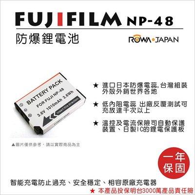 趴兔@樂華 FOR Fuji NP-48 相機電池 鋰電池 防爆 原廠充電器可充 保固一年