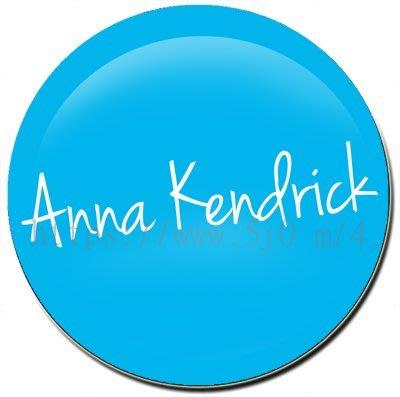 〈可來圖訂做-應援胸章〉Anna Kendrick 安娜坎卓克 應援胸章