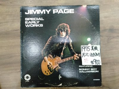 Jimmy Page Special Early Works 西洋流行藍調 麗之音二手黑膠唱片行