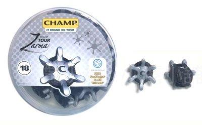 [小鷹小舖] CHAMP Golf Zarma Tour® SLIM-LOK SYSTEM 高爾夫 球鞋釘 補充包