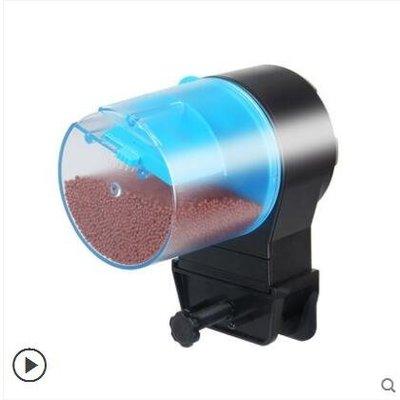魚缸自動餵魚器魚缸自動餵食器金魚錦鯉大容量智慧定時 LX