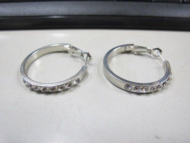 二手舖 NO.4551 時尚造型耳環 耳針 耳鉤 便宜賣 首飾飾品