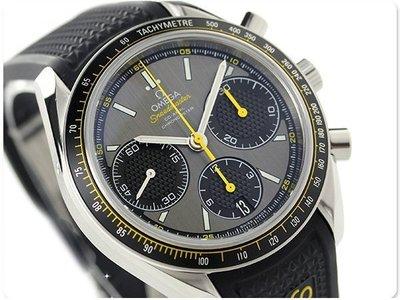 OMEGA 歐米茄 手錶 SPEEDMASTER RACING 超霸 機械錶 40mm 藍寶石 計時 326.32.40.50.06.001