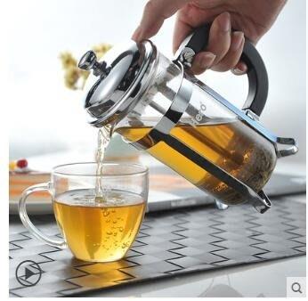 不銹鋼家用法式沖茶咖啡壓壺SMY648