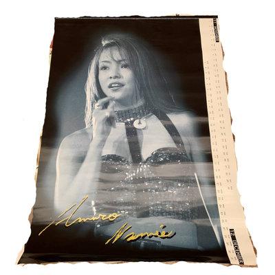 日本帶回~安室奈美惠NAMIE AMURO 早期1997年單張海報 B2尺寸~C款
