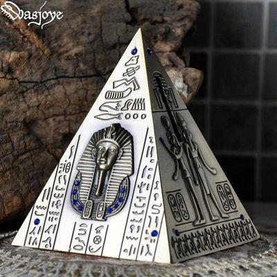 5C精選@古埃及法老復古金字塔儲蓄罐裝...
