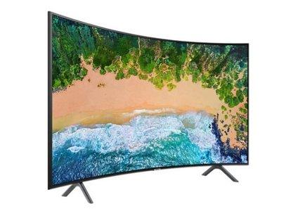 SAMSUNG 三星UA55NU7300WXZW 55吋 4K UHD 黃金曲面液晶電視