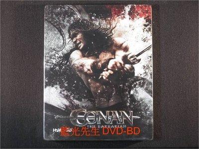 [3D藍光BD] - 王者之劍 Conan the Barbarian 3D + 2D 限量鐵盒典藏版