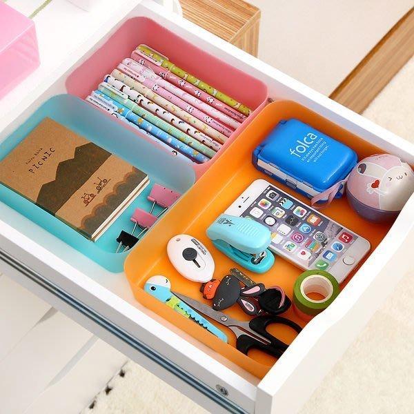 ❃彩虹小舖❃炫彩抽屜多用整理盒 ( S ) 日式 廚房 餐具 文具 雜物 分類 儲物盒 創意【A006】