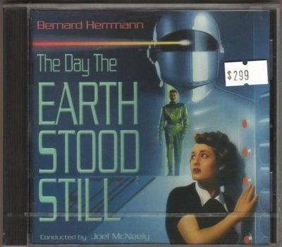 華聲唱片- Bernard Herrmann  / THE DAY THE EARTH STOOD STILL  / 全新未拆CD -- 010701