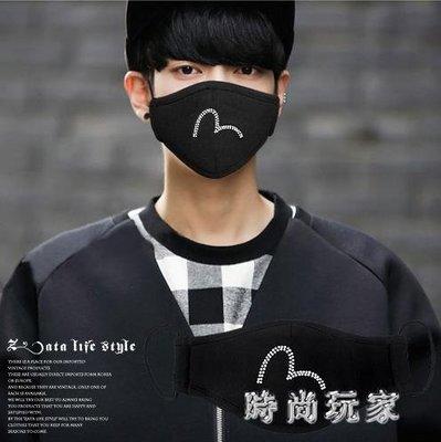 時尚韓版潮款男女情侶個性口罩秋PM2.5活性炭秋透氣薄 ys7111