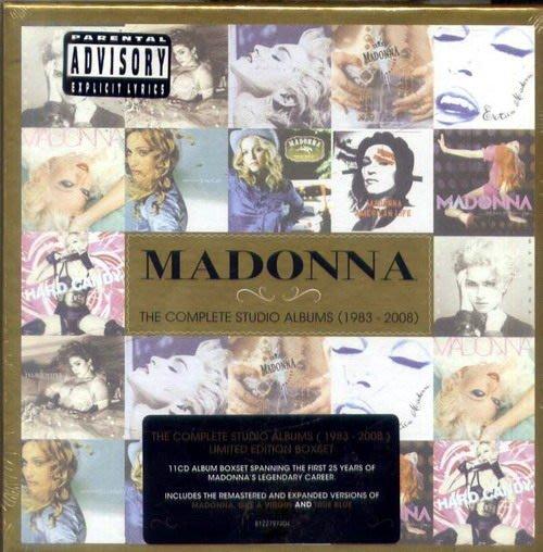 1983-2008全紀錄傳世寶典 11CD / 瑪丹娜 MADONNA / 完整收錄完整經典冠軍專輯 - 8122797404