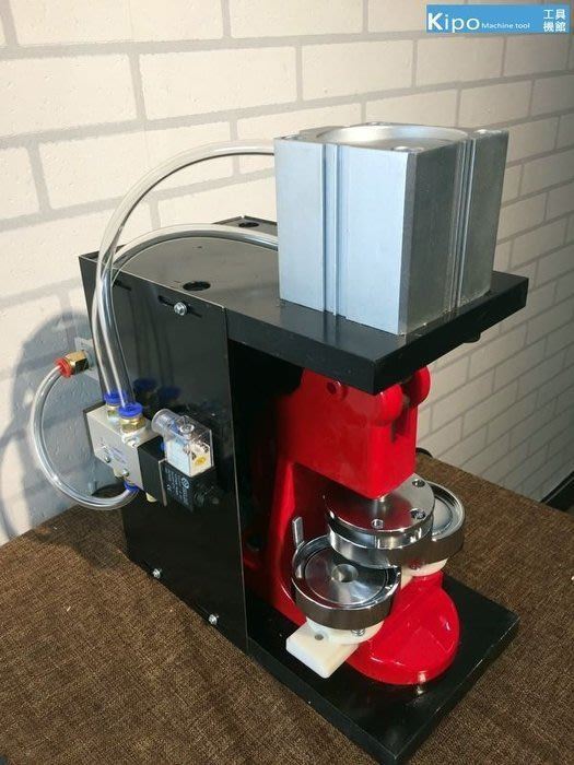 氣動壓卡機 胸章機徽章自動壓卡機熱銷-VDD001114A